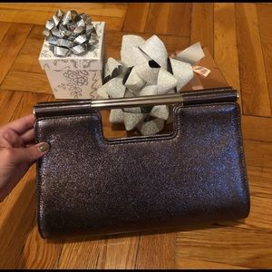 Feathered-Sass collection clutch purse